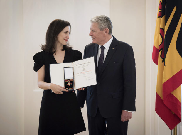 Bundesverdienstkreuz für Sibel Kekilli